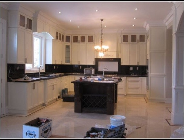 Kitchen Cabinets and top - Modern - toronto - by Homey Kitchen Cabinet Design