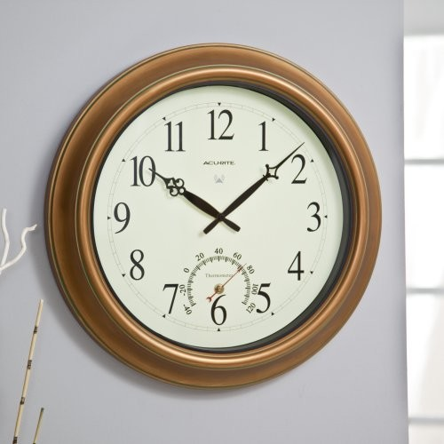 The Balmoral II Atomix Wall Clock is perfect for any area where you don't want t traditional-clocks