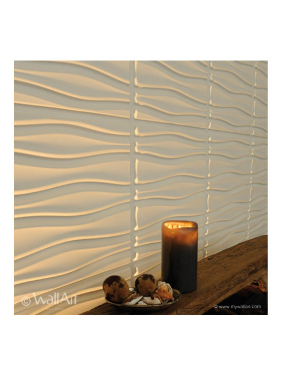 Textured wall coverings - WallArt brings your walls to life with modern and contemporary wall panel designs. Our interior decorative 3D wall panels are made from natural plant fibres from crushed sugarcane stalks remaining after the raw sugar is extracted from the sugarcane . The shredded raw material is called bagasse. This forms the base of this easily installed Eco friendly textured wall panels. The raw material used for our dimensional wall panels is 100% recyclable, compostable and is therefore 100% biodegradable