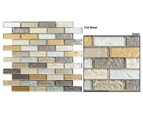 Mirage glass tile mosaic Impression series