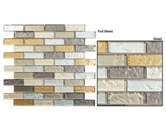 Mirage glass tile mosaic Impression series contemporary-home-decor