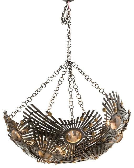 Falcon Chandelier eclectic-chandeliers