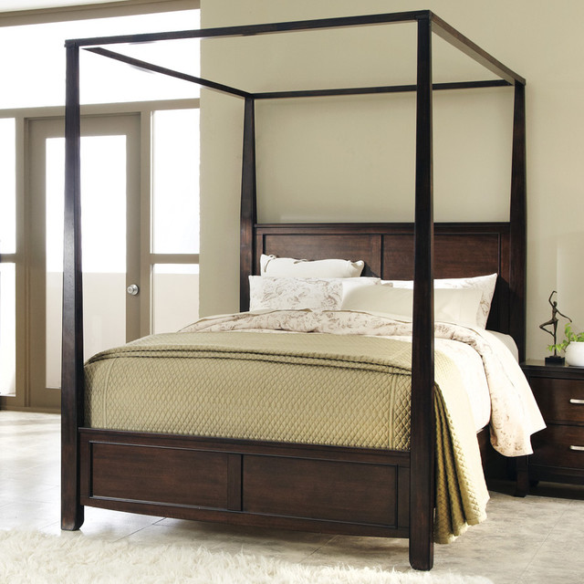 Bedroom Sets For Toddlers Bedroom Lighting Images King Canopy Bedroom Sets Youth Bedroom Furniture: Ingram Queen Canopy Bed In Antique Brown Finish