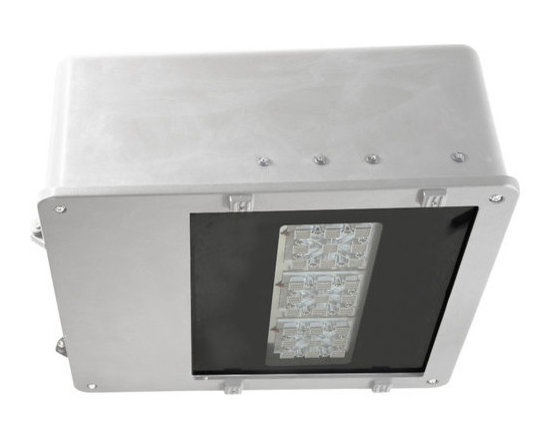 MaxLite - MLAR70LED50W MaxLite LED Area Light, 61 Watts White - LED Area Lights are an efficient, energy saving replacement for metal halide and high-pressure sodium fixtures, containing a universal voltage driver.