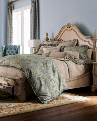 King Platform Bed traditional beds