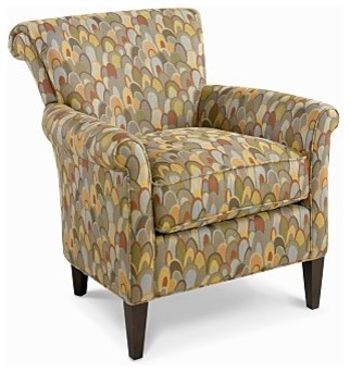 Magic linen living room chair traditional armchairs for Traditional armchairs for living room