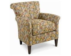 Magic Linen Living Room Chair traditional-chairs