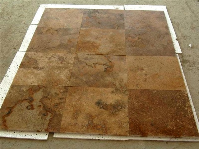 Foyer Antique Travertine Tile Noce Antique Travertine