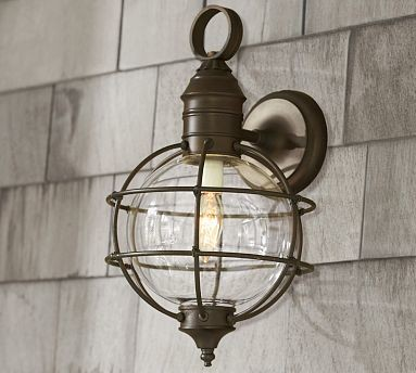 Fisherman 39 S Sconce Traditional Wall Sconces By Pottery Barn