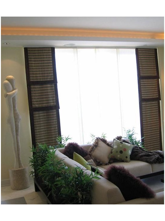 Custom Window Treatments by Creative Design Team -