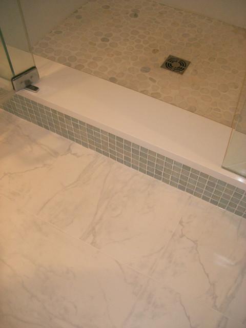 The Portfolio of Exact Tile traditional-bathroom