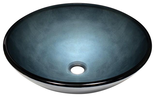 MR Direct 633 Hand-Painted Glass Vessel Sink bathroom-sinks