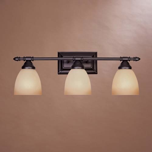 Perfect Oil Rubbed Bronze 4 Light Bath Vanity Light Bar Fixture Bathroom Wall