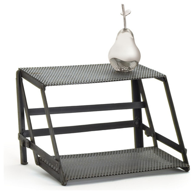 Unique and classic inspired style indu riser 11947 industrial desk accessories by gwg outlet - Unique office desk accessories ...