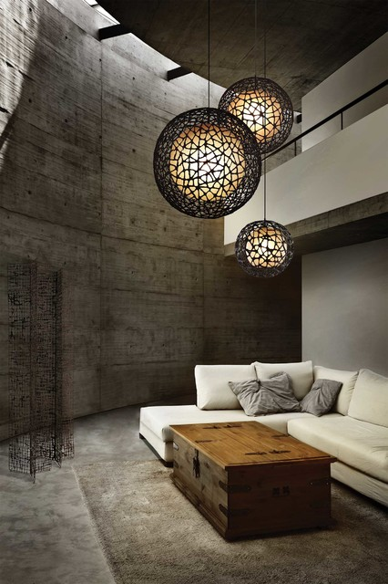 Living room lighting gallery contemporary pendant for Living room lighting