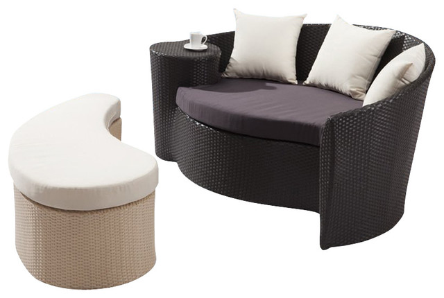 Zuo Curacao Bed and Ottoman modern-patio-furniture-and-outdoor-furniture