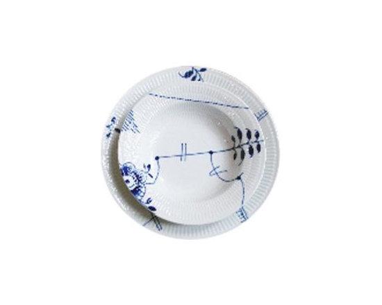 Blue Fluted, MEGA - Tabletop Ware -