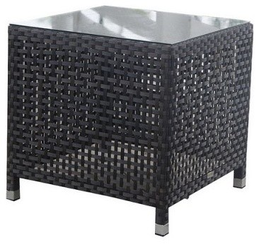 Source Outdoor Matterhorn All Weather Wicker End Table modern-patio-furniture-and-outdoor-furniture