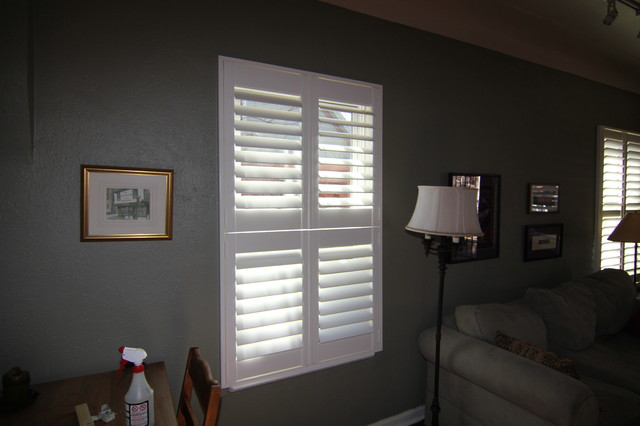 Double Hung Shutters : Denver residence double hung shutters transitional