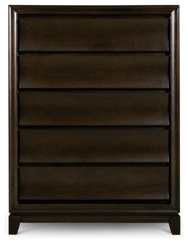 Meridian 5 Drawer Chest contemporary dressers chests and bedroom armoires