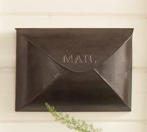Antique Envelope Mailbox Traditional Mailboxes By