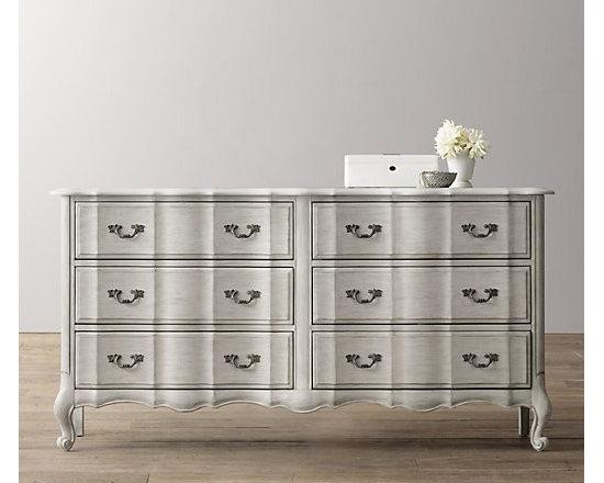 Marais Wide Dresser, Antique Gray Mist -
