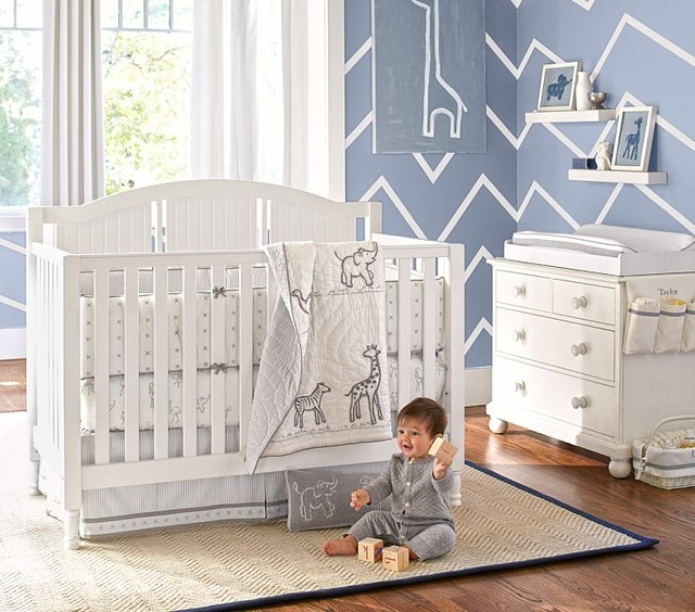 Catalina Fixed Gate 3 In 1 Crib Cribs Other Metro By