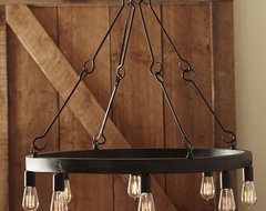 Jasper Filament Bulb Chandelier contemporary chandeliers