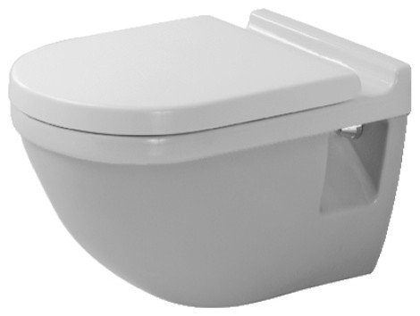 Duravit - Starck 3 Toilets Toilet Wall Mounted contemporary-toilets