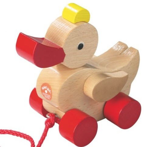 Duck Pull Toy - Kids Toys And Games - other metro - by Oompa Toys