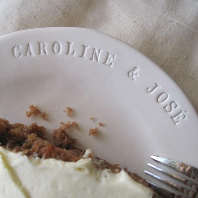 Custom Cake Plate contemporary-dinner-plates