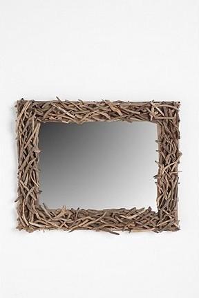 Driftwood Mirror mirrors