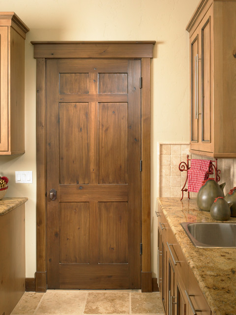 Rustic Interior Trim http://www.houzz.com/photos/3668432/Rustic ...