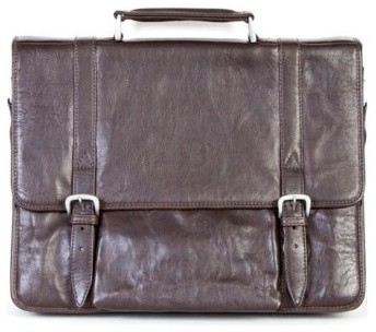 Hidesign by Scully Laptop Brief - Brown modern-household-cleaning-supplies