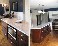 Cherry Kitchen Cabinets | Carlton Door Style | CliqStudios traditional-kitchen