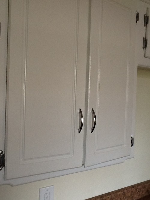 """need help figuring out why my cabinets are """"bumping"""" now!"""