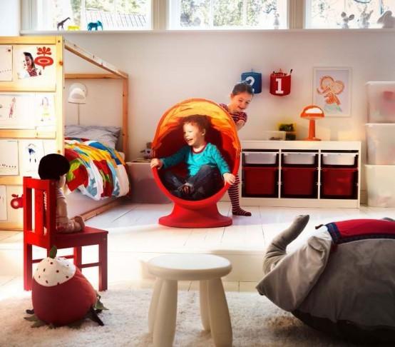 Ikea Kids Play Stool-MAMMUT modern-kids-chairs