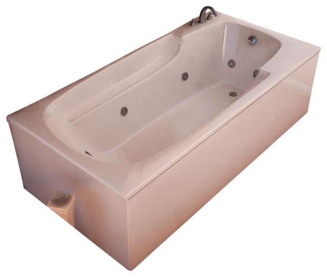 Atlantis Whirlpools 3660EWR Eros Bathtub traditional-bathtubs