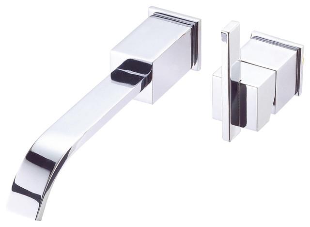 ... ? Single Handle Wall Mount Lavatory Faucet modern-bathroom-faucets