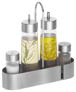 Makeup Storage Containers on Cita 5pc Cruet Set   Modern   Food Containers And Storage   By Lumens