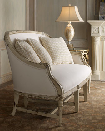 Antoinette Settee traditional love seats