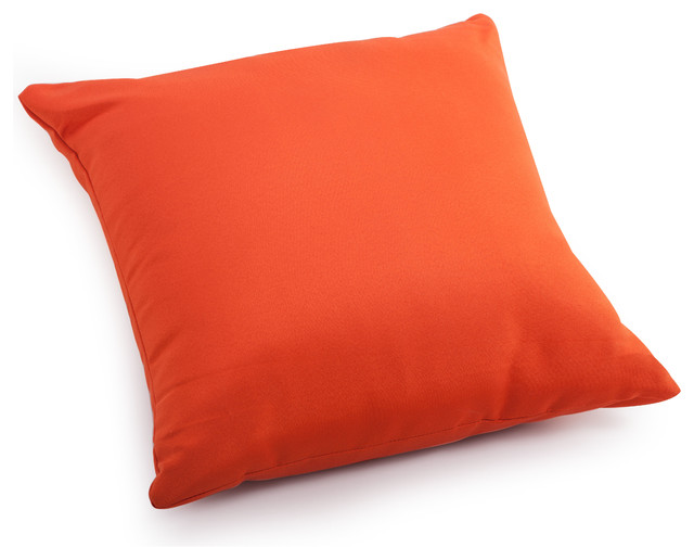 Laguna Large Pillow Orange - Contemporary - Outdoor Cushions And Pillows - by Zuo Modern ...