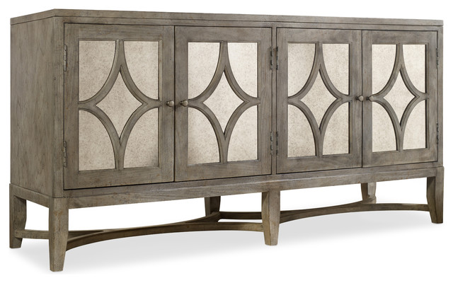 Hooker Furniture Melange Diamante Console Table 638-85102 - Transitional - Buffets And ...
