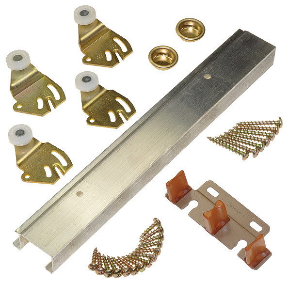 Sliding Bypass Door Hardware Contemporary Other Metro