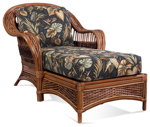 Rattan Chaise Lounge Tigre Bay Tropical Indoor Chaise Lounge Chairs b