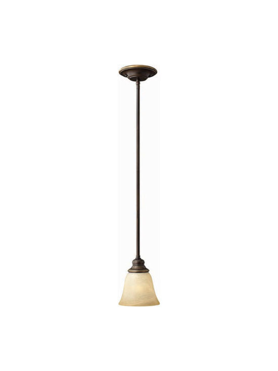 Hinkley Lighting 4567AT Mini-Pendant Cello Collection -