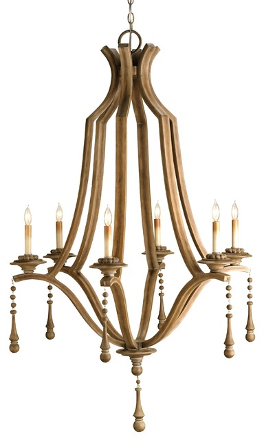 Currey & Co Simplicity Chandelier traditional-chandeliers
