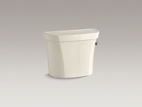 KOHLER Wellworth(R) 1.28 gpf tank with right-hand trip lever contemporary-toilets