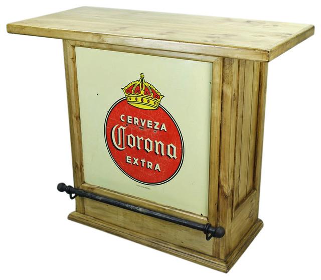Corona Mini Bar Rustic Wine And Bar Cabinets By Tres