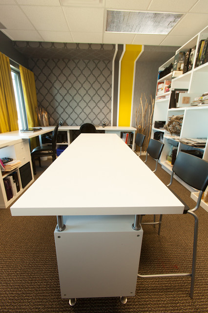 N Design's Office contemporary-home-office